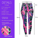 Geo Tribe Pop High Waisted Leggings-Wholesale Women's Leggings, Wholesale Plus Size , Wholesale Fashion Clothing