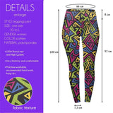 Native Funk High Waisted Leggings-Wholesale Women's Leggings, Wholesale Plus Size , Wholesale Fashion Clothing
