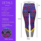 Tribal Pop High Waisted Leggings-Wholesale Women's Leggings, Wholesale Plus Size , Wholesale Fashion Clothing