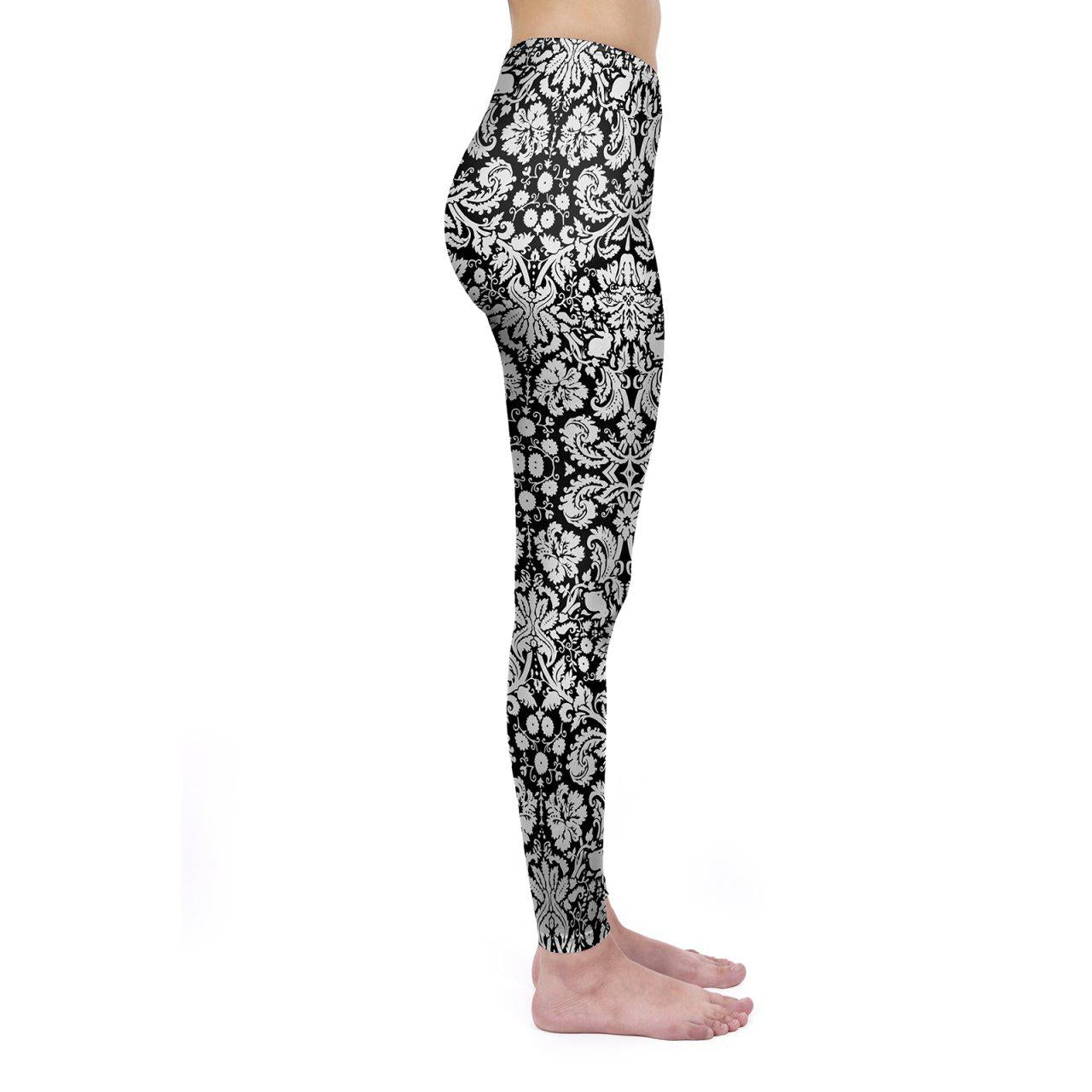Dark  Meadow Regular Leggings