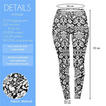 Dark Meadow Regular Leggings-Wholesale Women's Leggings, Wholesale Plus Size , Wholesale Fashion Clothing
