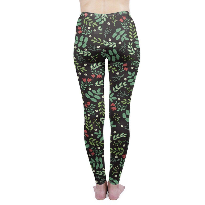Flower Garden Regular Leggings