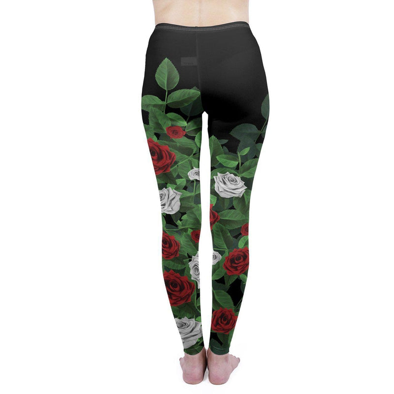Paint the Roses Regular Leggings