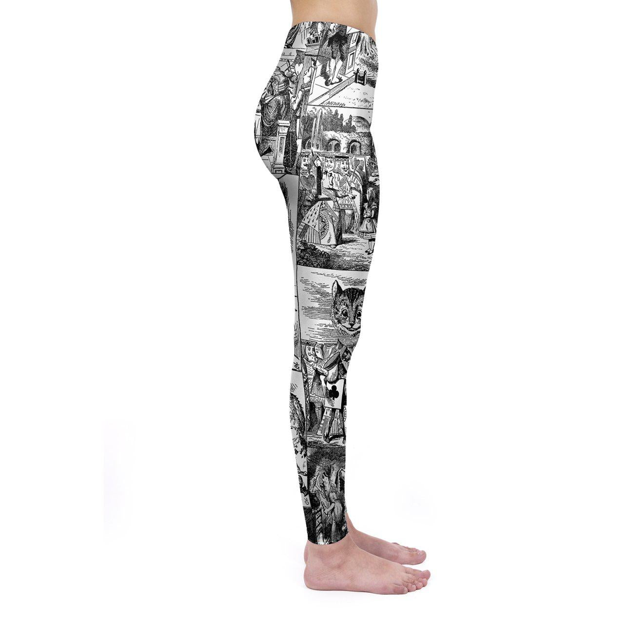 Through the Looking Glass Regular Leggings
