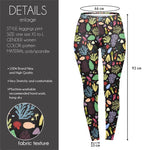 Colourful Coral Regular Leggings-Wholesale Women's Leggings, Wholesale Plus Size , Wholesale Fashion Clothing