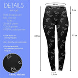 Smile High Waisted Leggings-Wholesale Women's Leggings, Wholesale Plus Size , Wholesale Fashion Clothing