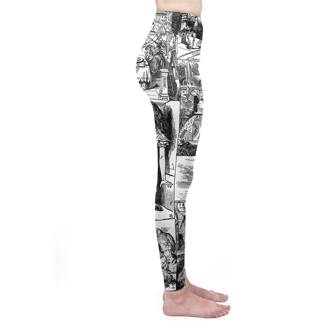 Through the Looking Glass High Waisted Leggings
