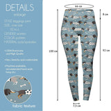 Fashion Dachshunds High Waisted Leggings-Wholesale Women's Leggings, Wholesale Plus Size , Wholesale Fashion Clothing