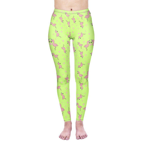 Flamingicorn Regular Leggings-Wholesale Women's Leggings, Wholesale Plus Size , Wholesale Fashion Clothing