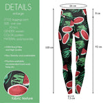 Dark Watermelon High Waisted Leggings-Wholesale Women's Leggings, Wholesale Plus Size , Wholesale Fashion Clothing