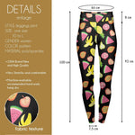Fruit Salad High Waisted Leggings-Wholesale Women's Leggings, Wholesale Plus Size , Wholesale Fashion Clothing