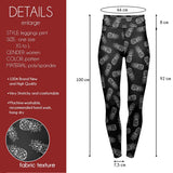 Sketchy Pineapple High Waisted Leggings-Wholesale Women's Leggings, Wholesale Plus Size , Wholesale Fashion Clothing
