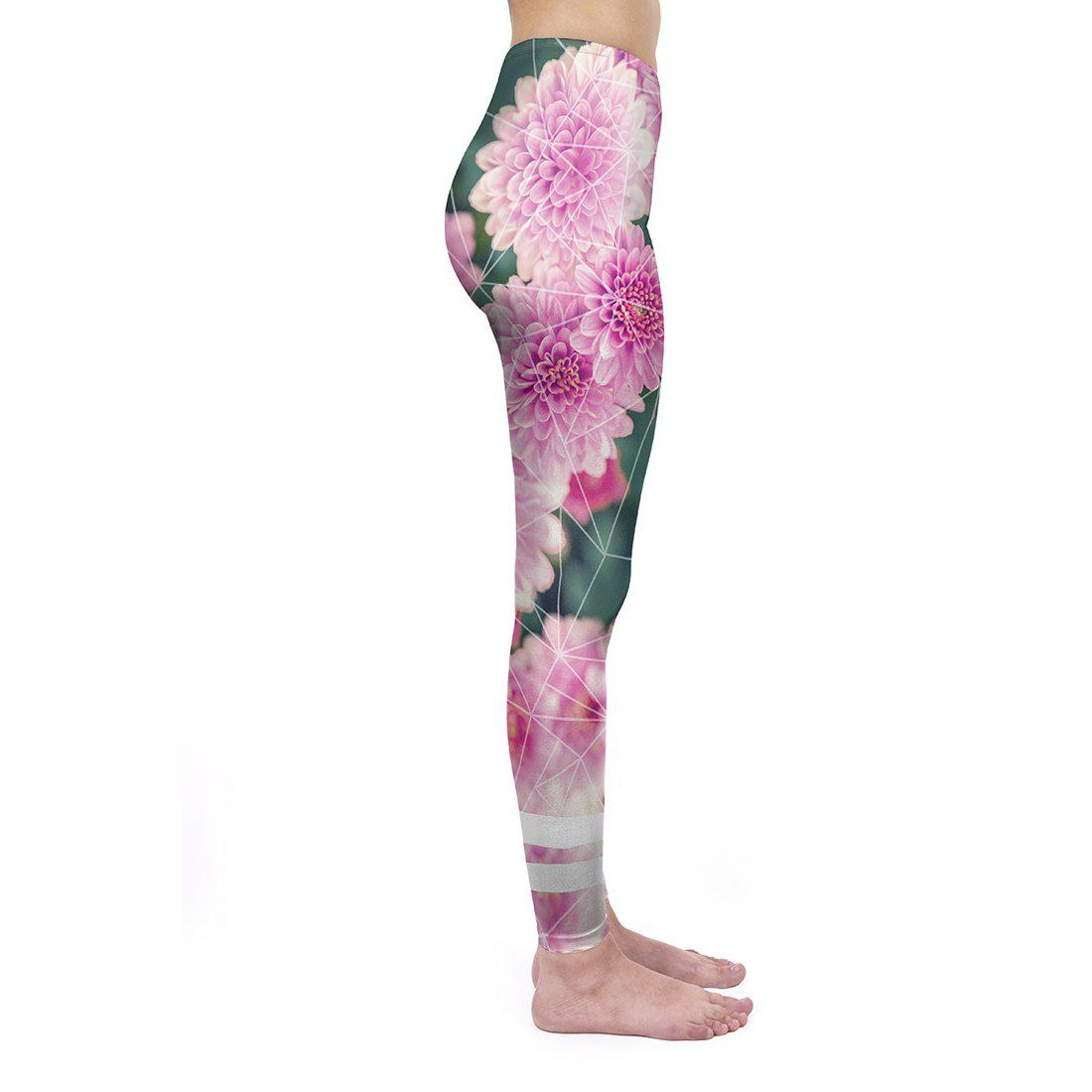 Geo Floral Regular Leggings