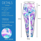 Crystal High Waisted Leggings-Wholesale Women's Leggings, Wholesale Plus Size , Wholesale Fashion Clothing
