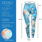 Floral Garden High Waisted Leggings-Wholesale Women's Leggings, Wholesale Plus Size , Wholesale Fashion Clothing