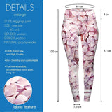 Polka-Dot Floral High Waisted Leggings-Wholesale Women's Leggings, Wholesale Plus Size , Wholesale Fashion Clothing