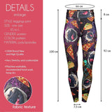 Trippy Junk Food High Waisted Leggings-Wholesale Women's Leggings, Wholesale Plus Size , Wholesale Fashion Clothing