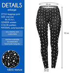 Moon And Stars Regular Leggings-Wholesale Leggings UK- Wholesale Women's Clothing- Kukubird Creative Studio