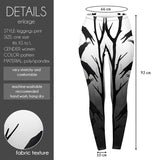 The Crows Regular Leggings-Wholesale Women's Leggings, Wholesale Plus Size , Wholesale Fashion Clothing