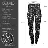 Moon And Stars High Waisted Leggings-Wholesale Women's Leggings, Wholesale Plus Size , Wholesale Fashion Clothing