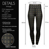 Sun And Moon High Waisted Leggings-Wholesale Women's Leggings, Wholesale Plus Size , Wholesale Fashion Clothing