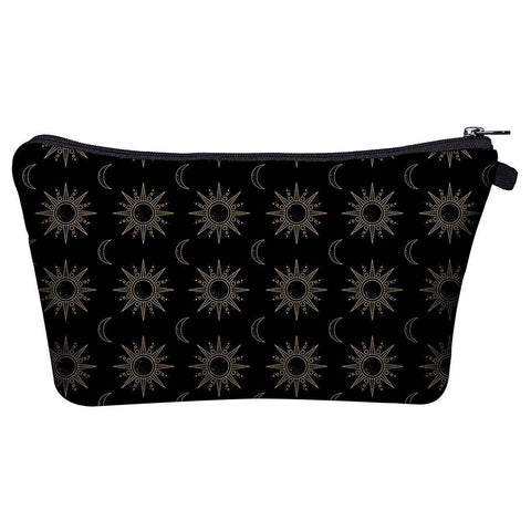 Sun And Moon Make Up Bags-Wholesale Women's Leggings, Wholesale Plus Size , Wholesale Fashion Clothing