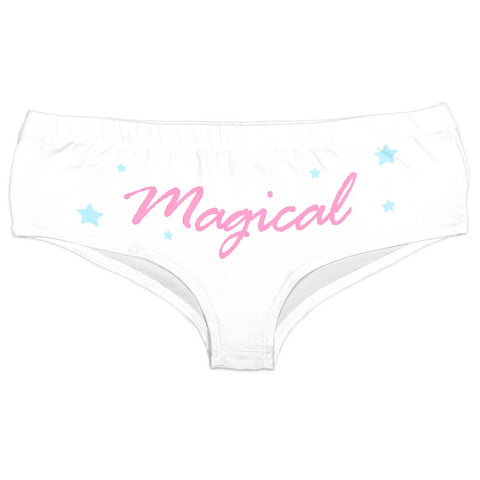 Be Magical Horn Panties-Wholesale Leggings UK- Wholesale Women's Clothing- Kukubird Creative Studio