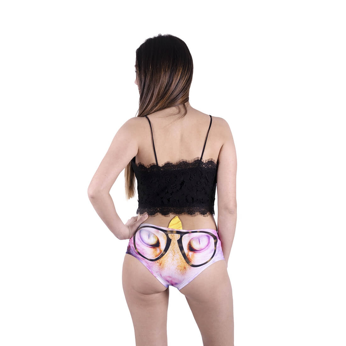 Galaxy Nerdy Caticorn Horn Panties