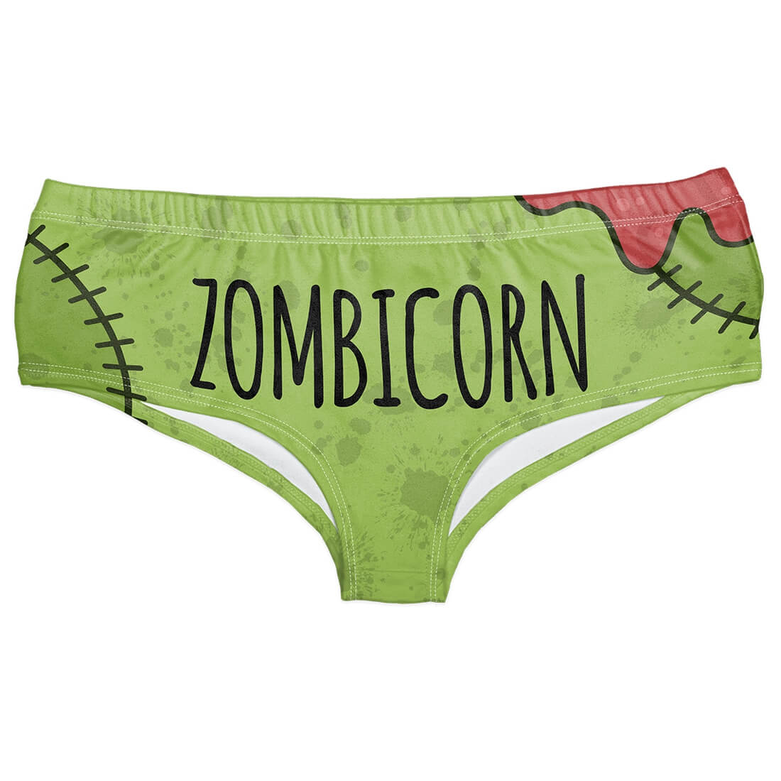 Zombie Caticorn Horn Panties