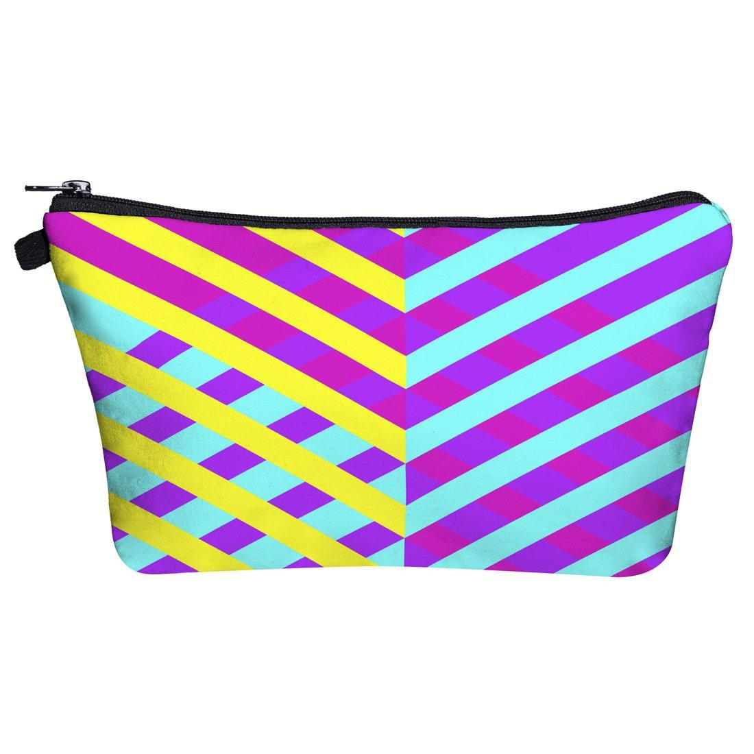 Cross Lines Make Up Bags