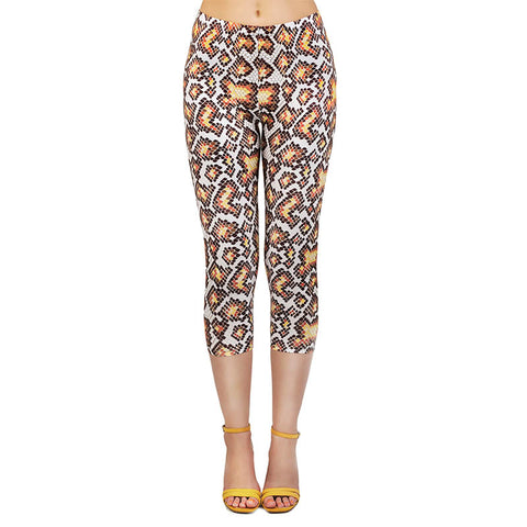 Hissy Fit Capri Leggings-Wholesale Women's Leggings, Wholesale Plus Size , Wholesale Fashion Clothing