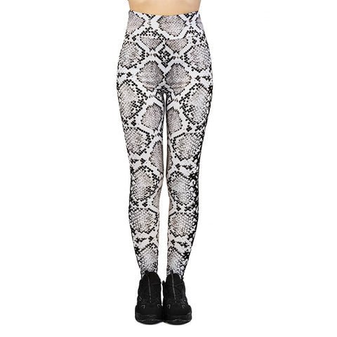 Danger Noodle High Waisted Leggings-Wholesale Women's Leggings, Wholesale Plus Size , Wholesale Fashion Clothing