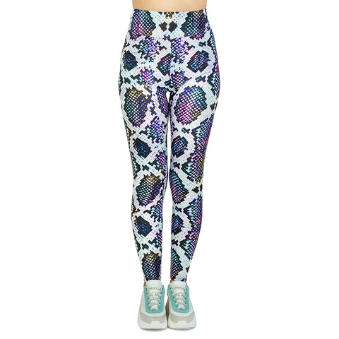 Snake it Till you Make it High Waisted Leggings-Wholesale Women's Leggings, Wholesale Plus Size , Wholesale Fashion Clothing