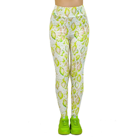 Fresh Scales High Waisted Leggings-Wholesale Women's Leggings, Wholesale Plus Size , Wholesale Fashion Clothing