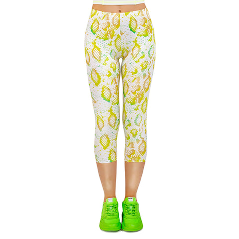 Fresh Scales Capri Leggings-Wholesale Women's Leggings, Wholesale Plus Size , Wholesale Fashion Clothing