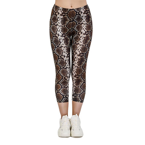 We're Hisstory Capri Leggings-Wholesale Women's Leggings, Wholesale Plus Size , Wholesale Fashion Clothing