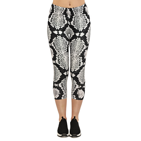 Moon Cobra Capri Leggings-Wholesale Women's Leggings, Wholesale Plus Size , Wholesale Fashion Clothing
