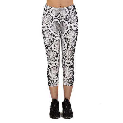 Danger Noodle Capri Leggings-Wholesale Women's Leggings, Wholesale Plus Size , Wholesale Fashion Clothing