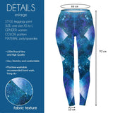 Geo Universe Regular Leggings-Wholesale Women's Leggings, Wholesale Plus Size , Wholesale Fashion Clothing