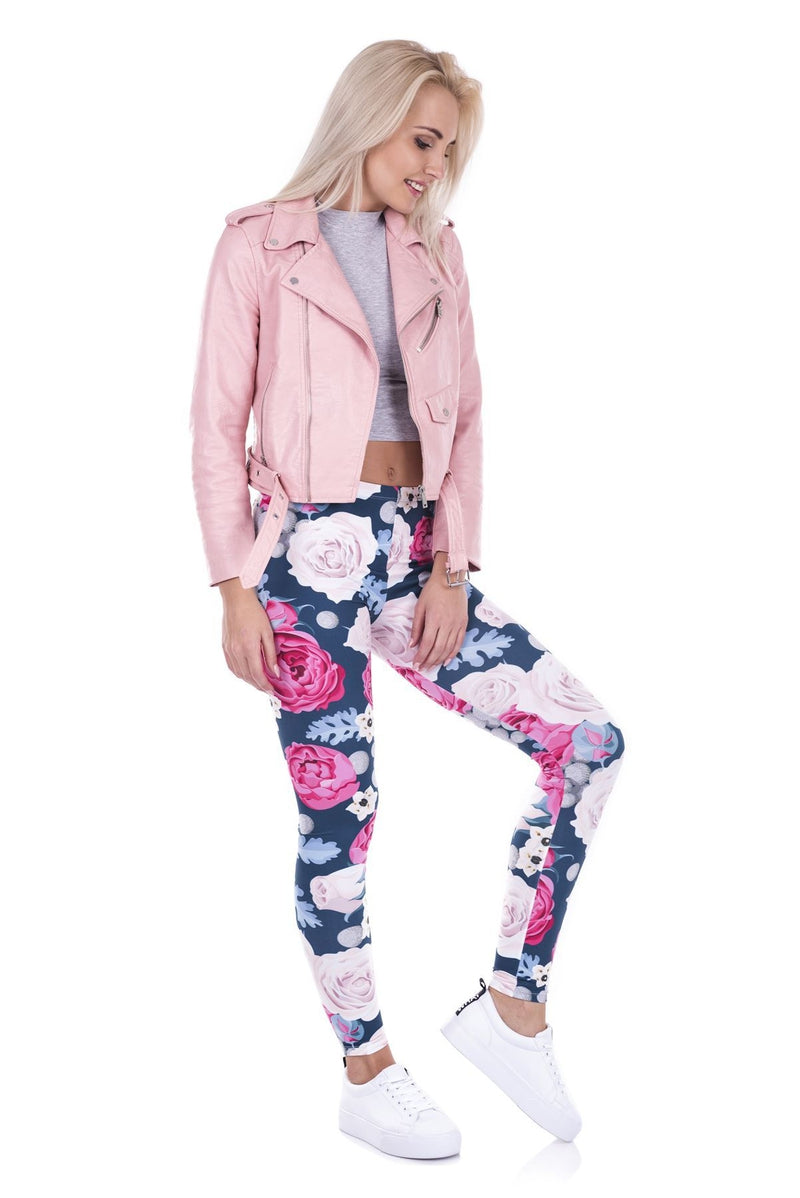 Wild Roses Regular Leggings