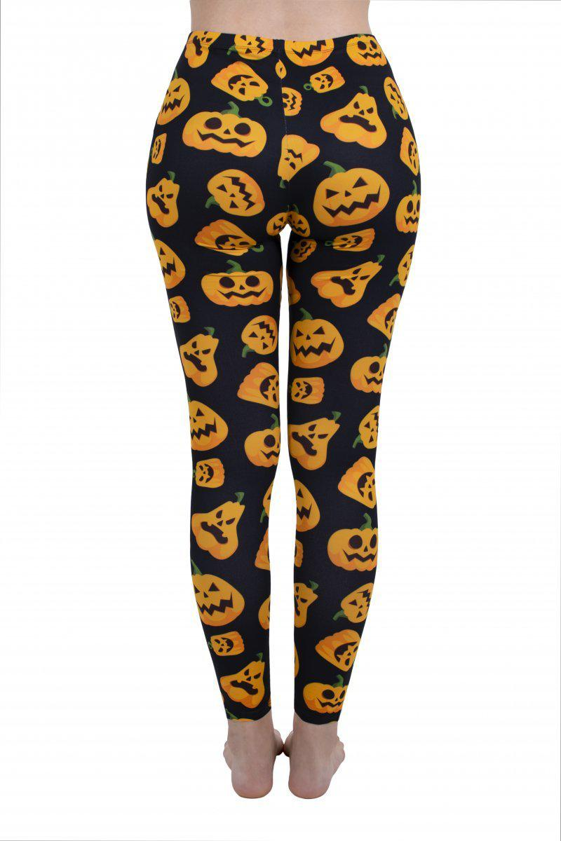 Jack O Lanterns Regular Leggings