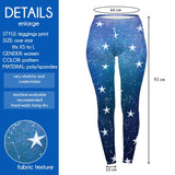 Star Gazer Regular Leggings-Wholesale Women's Leggings, Wholesale Plus Size , Wholesale Fashion Clothing