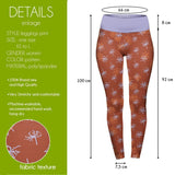 Daisies And Seeds High Waisted Leggings-Wholesale Women's Leggings, Wholesale Plus Size , Wholesale Fashion Clothing
