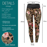 Snakes And Chains High Waisted Leggings-Wholesale Leggings UK- Wholesale Women's Clothing- Kukubird Creative Studio