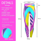 Fluorescent Sport High Waisted Leggings-Wholesale Women's Leggings, Wholesale Plus Size , Wholesale Fashion Clothing