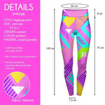 Neo Geo High Waisted Leggings-Wholesale Women's Leggings, Wholesale Plus Size , Wholesale Fashion Clothing