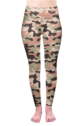 Camo Light High Waisted Leggings-Wholesale Women's Leggings, Wholesale Plus Size , Wholesale Fashion Clothing