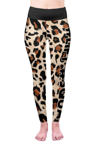 Leopard Lift Squat High Waisted Leggings-Wholesale Women's Leggings, Wholesale Plus Size , Wholesale Fashion Clothing