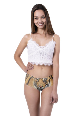 Tiger Ear Pantie-Wholesale Leggings UK- Wholesale Women's Clothing- Kukubird Creative Studio