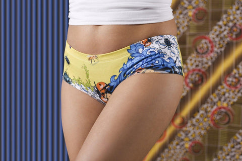 Bugs & Teacups Panties-Wholesale Leggings UK- Wholesale Women's Clothing- Kukubird Creative Studio